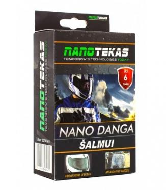 """""""Nanotec"""" nano danga šalmui - didesniam motociklininkų komfortui"""