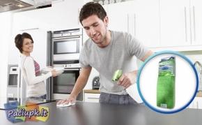 """""""Nanotec"""" nano šluostė - švariems namams"""
