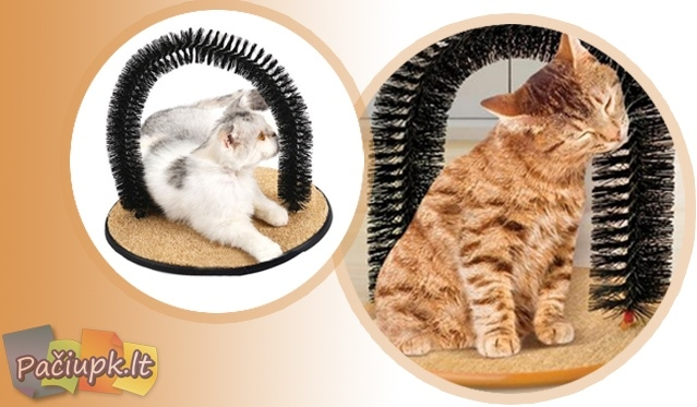 """Su stovu-žaidimu """"Perfect Kitty Pad""""Jūsų katė bus laiminga!"""