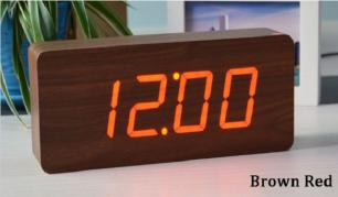 Išskirtinio dizaino LED laikrodis-žadintuvas