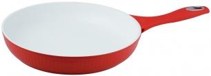 "Keptuvė keramikine danga 24cm ""King Hoff"" (raudona)"