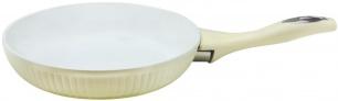 "Keptuvė keramikine danga 22cm ""King Hoff"" (balta)"