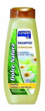 """Šampūnas plaukams su ramunėlių ir alavijo ekstraktais """"Genera"""", 500 ml"""