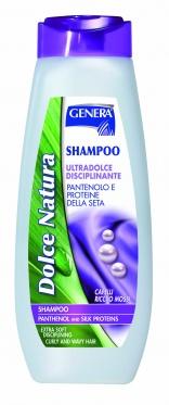 "Šampūnas plaukams su pantenoliu ir šilko proteinais ""Genera"", 500 ml"