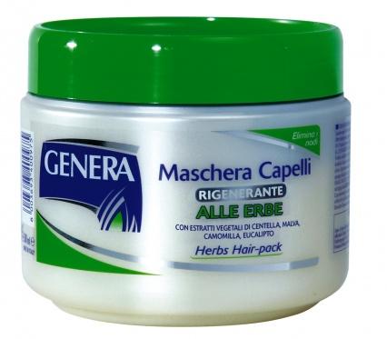 """Plaukų kaukė su žolelėmis """"Genera"""", 500 ml"""
