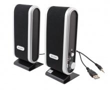 Stereo garsiakalbiai su  USB jungtimi, 2 vnt.