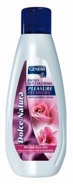 """Dušo putos migdolų žiedų ir rožių kvapo """"Genera"""", 1000 ml"""