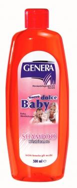 """Ypatingai švelnus vaikiškas šampūnas """" Genera"""", 500 ml"""