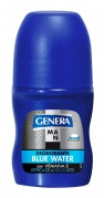 "Rutulinis dezodorantas vyrams ""Genera Deo Blue Water Roll-on"", 50 ml"