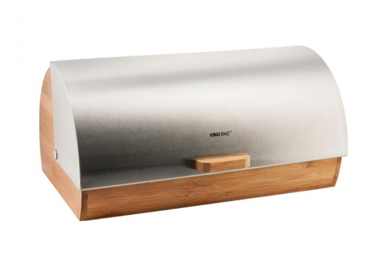 "Bambukinė duoninė ""King Hoff"", 39 x 28 x 18.5 cm"