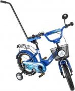 """Vaikiškas mėlynas dviratis """"Tomabike"""", 14"""""""