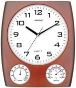 """Sieninis laikrodis, su drėgmės ir temperatūros matuokliais """"King Hoff"""""""