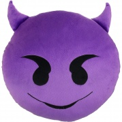 "Dekoratyvinė pagalvėlė ""Emoji Evil"""