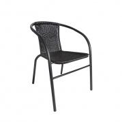 Stilinga, tvirto metalo bei patogi sodo kėdė