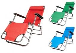 Sulankstoma lauko kėdė - gultas