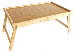 Sulankstomas medinis staliukas
