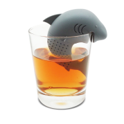 "Silikoninis arbatos sietelis ""Ryklys"""
