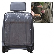 Automobilio priekinės sėdynės atlošo apsauga
