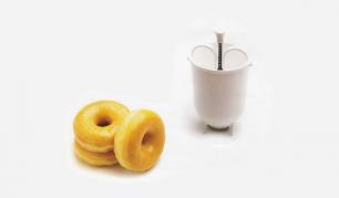 "Tešlos dozatorius spurgoms ""Svim Mr. Donuts"""