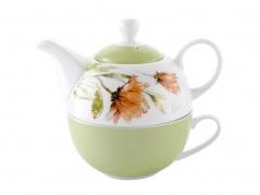 """Puodelis su arbatinuku """"Floris"""""""