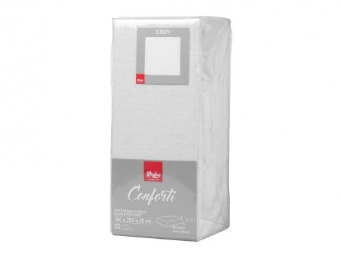 "Paklodė su guma ""Conforti"" 160 x 200 cm (balta)"