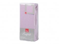 """Paklodė su guma """"Conforti"""" 180 x 200 cm (šviesiai violetinė)"""