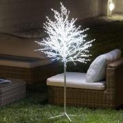 Sniegu padengtas dekoratyvinis medis (120 LED)