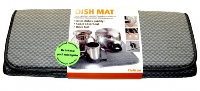 """""""Smart Dish Mat"""" indų kilimėlis (pilkas)"""