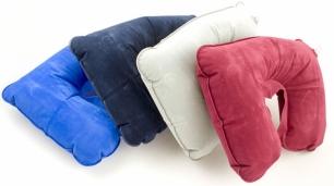 Pripučiama kelioninė pagalvėlė (mėlyna)