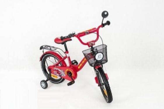 """Vaikiškas raudonas dviratis """"Tomabike"""", 16"""""""