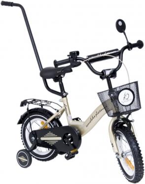 """Vaikiškas aukso spalvos dviratis """"Tomabike"""", 12"""""""