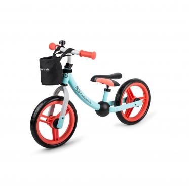 """Balansinis dviratis su naujo modelio ratais """"Kinderkraft 2WAY NEXT MINT"""""""