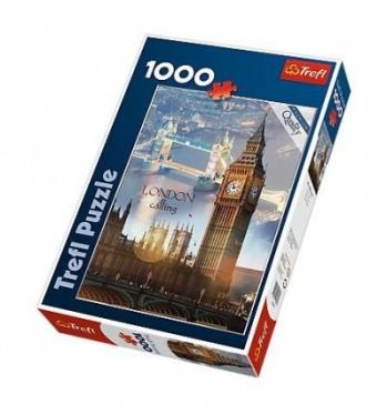 """""""Trefl"""" dėlionė """"Londonas rytą"""", 1000 dalių"""