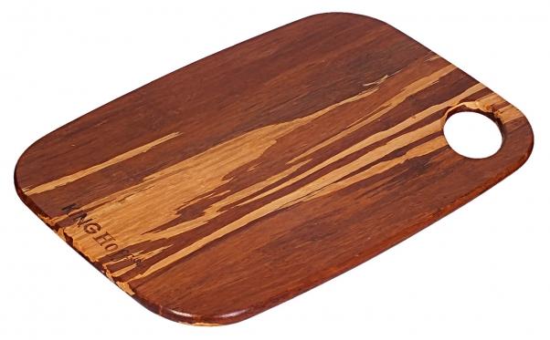 """""""King Hoff"""" bambukinė pjaustymo lentelė, 27 x 19 x 1 cm"""