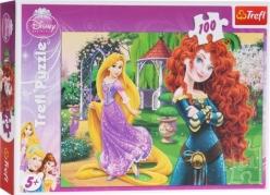 """""""Trefl"""" dėlionė """"Princesės"""", 100 dalių"""