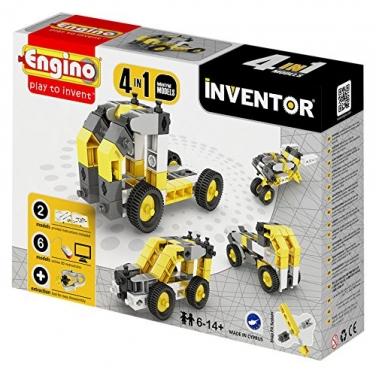 """""""Engino Inventor"""" konstruktorius """"Pramoninis transportas"""", 4 modeliai"""