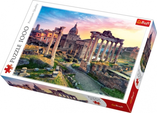 """""""Trefl"""" dėlionė """"Romos Forumas"""", 1000 dalių"""