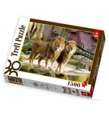 """""""Trefl"""" dėlionė """"Liūtai"""", 1500 dalių"""