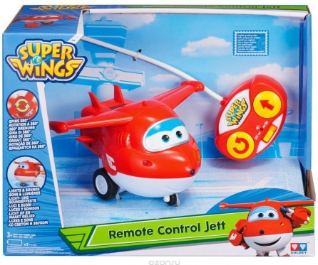 """Super Sparnai"" radijo bangomis valdomas lėktuvėlis ""Jett"""