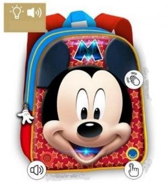 """3D kuprinė """"Peliukas Mikis"""", 24 x 30 x 9 cm"""