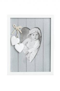 Baltos - pilkos spalvų nuotraukų rėmelis