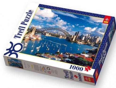 """""""Trefl"""" dėlionė """"Sidnėjaus tiltas"""", 1000 dalių"""