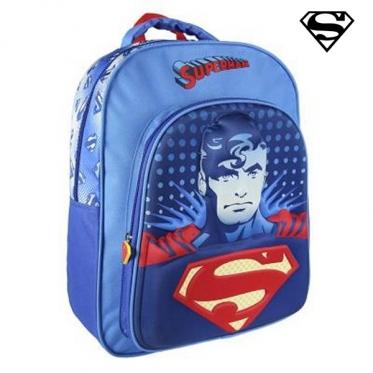 """3D mokyklinė kuprinė """"Supermenas"""", 41 x 31 x 13 cm"""