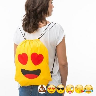 """Kuprinė - maišas su virvutėmis """"Jaustukai"""", 34 x 42 cm"""