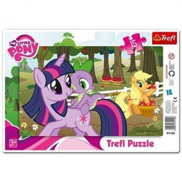 """""""Trefl"""" dėlionė """"Mano mažasis ponis"""", 15 dalių"""