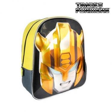 """3D mokyklinė kuprinė """"Transformeriai"""", 25 x 31 x 10 cm"""