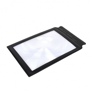Padidinamasis stiklas, 24,5 x 15 cm