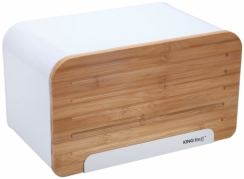 """King Hoff"" duoninė su bambukine pjaustymo lentele, 35x20,4x21,5 cm."