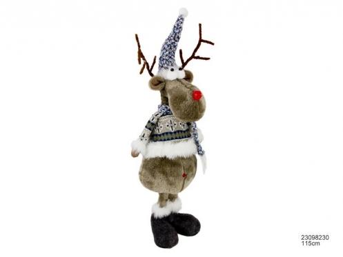 "Kalėdinė dekoracija ""Briedis"", 115 cm"