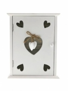 Medinė raktų dėžutė, 20 x 25 x 6 cm